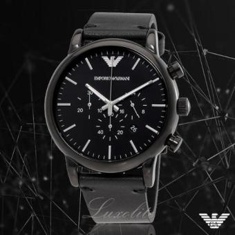 Harga Emporio Armani Men's AR1918 Dress Analog Display Analog Quartz Black Watch