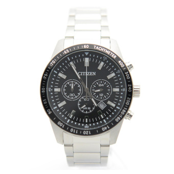 Harga Citizen AN8070-53E Men Stainless Steel Chronograph Tachymeter With Date Watch