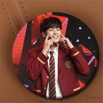 Harga Youpop Kpop Korean ASTRO Mini Third Album Autumn Story Photocard Showcase Brooch Pin Badge Accessories For Clothes Hat Backpack - intl