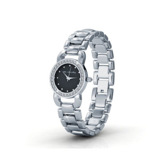 Harga Luxx Watch (Black) - Crystals from Swarovski®