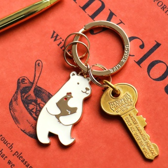Harga Creative Cute Animal series key buckle Oh bear key ring to send his girlfriend a chicken year birthday holiday gifts