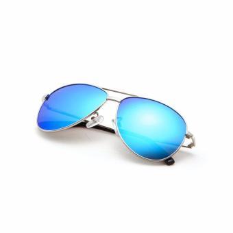 COASTAL VISION Polarized Women Silver sunglasses Pilot anti UVA/B Mirror lenses CVS5112 - 4