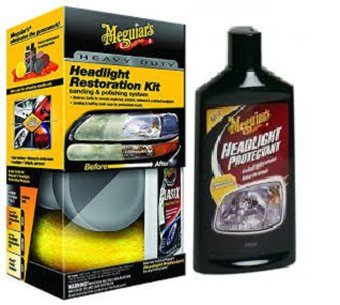 Harga Meguiar's HeadLight Care Kit Set
