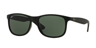 Harga Ray-Ban Sunglasses Andy (F) RB4202F - Matte Black (606971) Size 57 Grey Gradient Dark Grey
