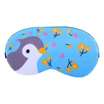 Harga Cooling or Hear Eye Mask With Removable Ice Bag Insert(bird) - intl