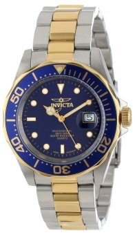 Harga Invicta Mako Swiss Pro Diver Men's Two Tone Stainless Steel Strap Watch INV9310