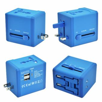 Travel Adapter with 2 USB ports