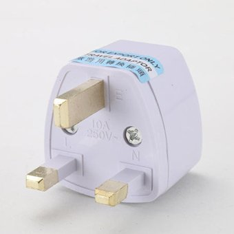 UK Travel adapters & Converters Applicable to Malaysia - intl - 3