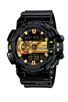 Harga Casio G-Shock Music-Themed G'MIX Bluetooth Watch GBA400-1A9