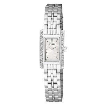 Harga Citizen Watch QUARTZ Silver Stainless-Steel Case Stainless-Steel Bracelet Ladies Japan NWT + Warranty EZ6350-53A