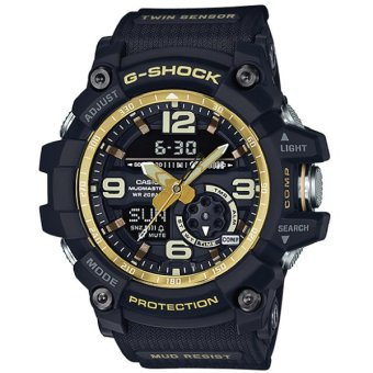 Casio G-Shock Mudmaster Master of G Series Black Resin Band Watch GG1000GB-1A