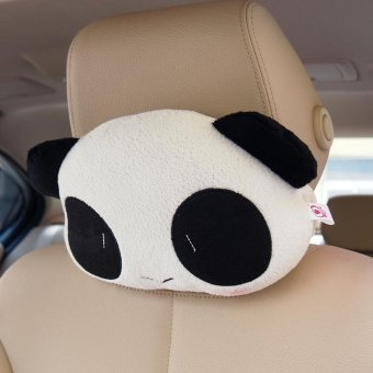 Harga Panda Cartoon Waist Pillow Pillow For Car Seat(one smile panda Pillow) - intl