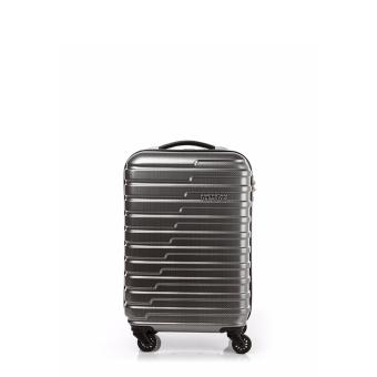 Harga American Tourister Handy Spinner 55 TSA (Matt Grey Checks)
