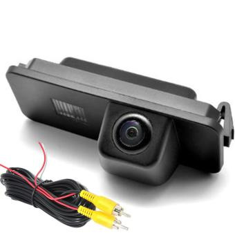 View Car Rear Backup Reverse CAMERA for VW GOLF V CC PASSAT POLO GOLF 5 SCIROCCO EOS LUPO (2 Cage) PHAETON BEETLE SEAT VARIANT - intl - 3