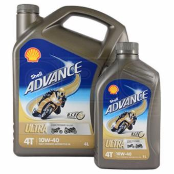 Harga Shell Advance Ultra 4T 10W-40 Fully Synthetic Motorcycle Oil 1L