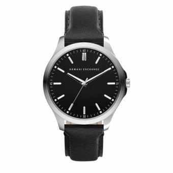 Harga Armani Exchange Men's AX2149 Black Leather Quartz Watch
