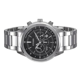 Citizen Watch Chronograph Silver Stainless-Steel Case Stainless-Steel Bracelet Mens Japan NWT + Warranty AN8150-56E - 3