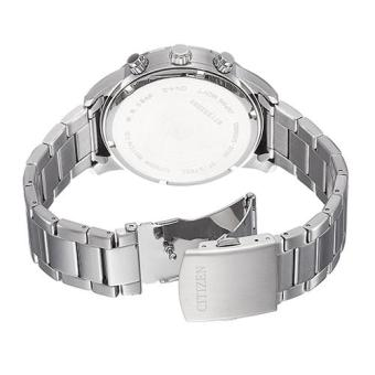 Citizen Watch Chronograph Silver Stainless-Steel Case Stainless-Steel Bracelet Mens Japan NWT + Warranty AN8150-56E - 4