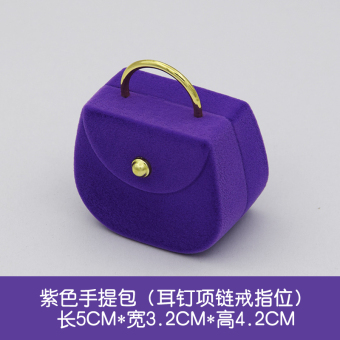 Harga New jewelry box necklace earrings ring box jewelry packaging bag packaging box square box necklace