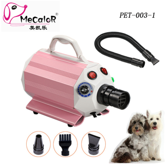 Harga New 2016 Anion Protection Pet Blow Dryer Small Dog Gromming HairDryer Blaster for Bichon Teddy and Poodle 220V,1600W - intl