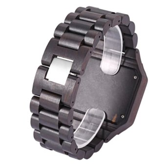 Bewell ZS - W001A Male Wooden Quartz Watch Luminous Decorative Sub-dial Japan Movt Wristwatch - intl - 4