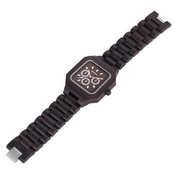 Bewell ZS - W001A Male Wooden Quartz Watch Luminous Decorative Sub-dial Japan Movt Wristwatch - intl - 3