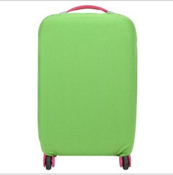 Harga Hanyu Solid Elasticity Luggage Protective Suitcase Covers L(Green) - intl