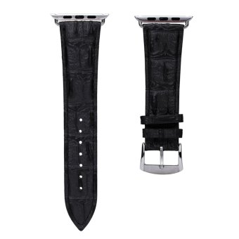 Harga Cow Leather Watch Band Watchband for Apple Iwatch 42mm