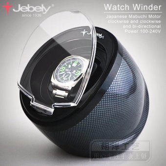 Harga Jebely Black Single Watch Winder for automatic watches automatic winder Multi-function 5 Modes Watch Winder 1 - intl