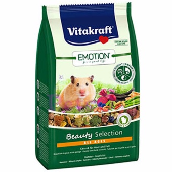 Harga Vitakraft Emotion Beauty Hamster 600g