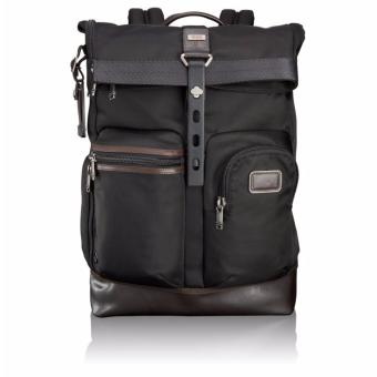 Harga Tumi Alpha Bravo Luke Roll Top Backpack 222388 - intl