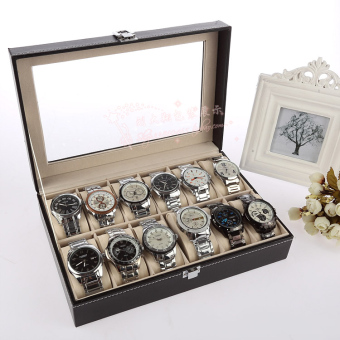 Harga Watch Jewelry box packaging box of Booth watch box storage props jewelry display ornaments gift box wooden