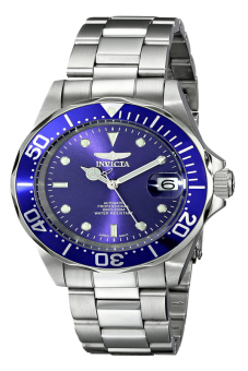 Harga Invicta Pro Diver Men's Silver Stainless Steel Strap Watch INV9094