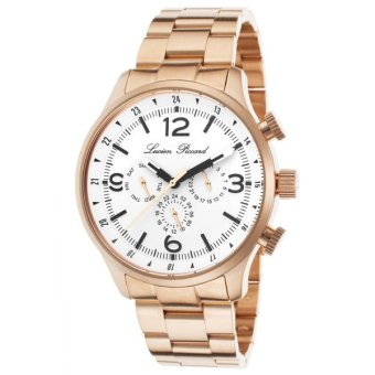 Harga Lucien Piccard Men's Watches Avalon Rose-Tone LP-13013-RG-22