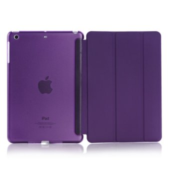 Harga Welink Ultra Slim Smart Cover PU Leather Case for Apple iPad Mini 1/2/3 (Purple) (Intl)