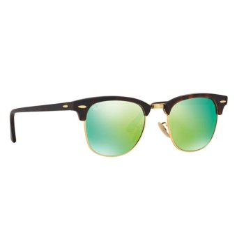 Harga RAY-BAN CLUBMASTER GREY MIRROR GREEN Lenses RB3016 114519 MAN SUNGLASS
