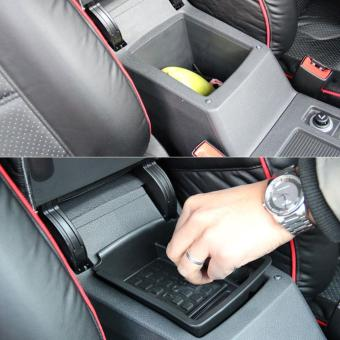 Harga Beau Auto Organizer Armrest Storage Box Container Holder For Volkswagen Golf 7 - intl