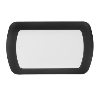 Harga Beau ABS Car Sun visor mirror Makeup Sun-shading Cosmetic Mirror For Automobile - intl