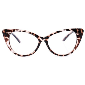 Harga Luxury Vintage Retro Plain Cat Eye Frame Spectacle Styling Eyeglasses