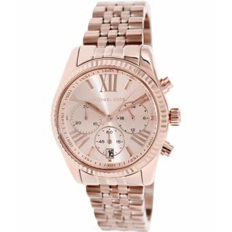 Michael Kors Lexington Women's Rose Gold Stainless Steel Bracelet Watch MK5569