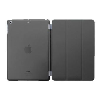 Harga Welink Detachable Tablet Smart Cover + Slim Transparent Back Case for Apple iPad Mini 4 (Black)