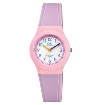 Harga Q&Q VR75J002Y By Citizen Kids Analog Fashion Purple Pink Sport Watch