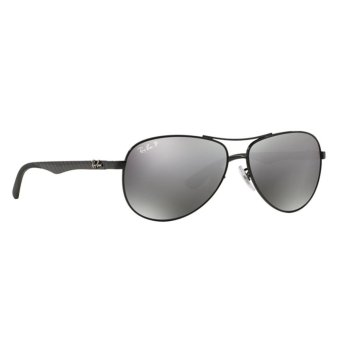 Harga Ray-Ban RB8313 Grey Mirror Black Polar [61]