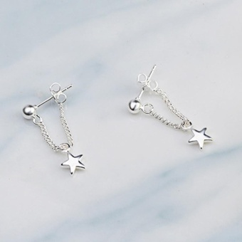 Kuhong Fashion Fine Five-pointed star Earrings - intl - 2