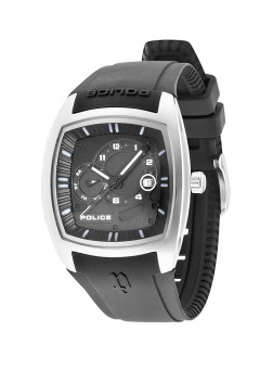 Harga Police SWAT Black Silicone Strap Watch