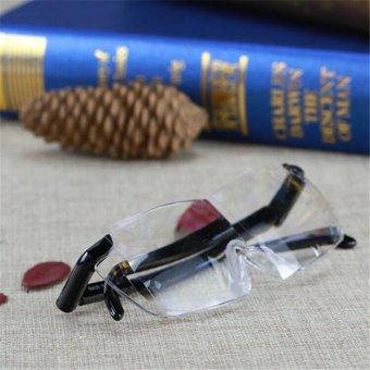 LALANG Magnifying Eyewear Hands-Free Magmification Reading Loupe Magnifying Glasses Big Vision 160 degrees - 4