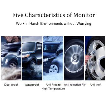CAREUD U912 WF Tire Pressure Monitor System + 4 External Sensors for Toyota - intl - 2