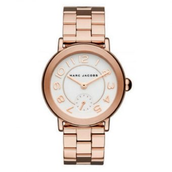 Harga Marc Jacobs Watch MJ3471 Rose Gold Tone Stainless Steel