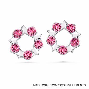 Harga Becky Earrings Rose Crystals from Swarovski®