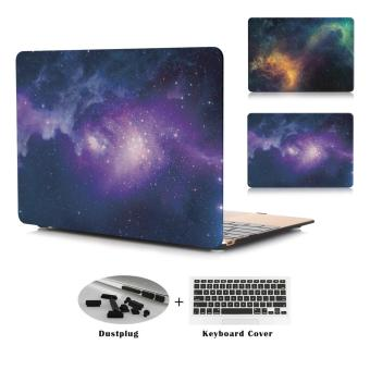 JUSHENG® Pro 13 Retina A1706/A1708 3in1 MacBook Star Plastic Hard Case with Keyboard Cover+Dust Plug r for Newest Macbook Pro 13 Inch with Retina Display No CD-ROM (A1706/A1708, Oct 2016) - intl